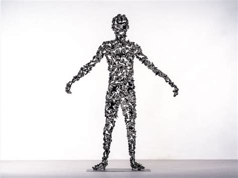 nature patterns human elegant human sculptures made of intricate patterns found