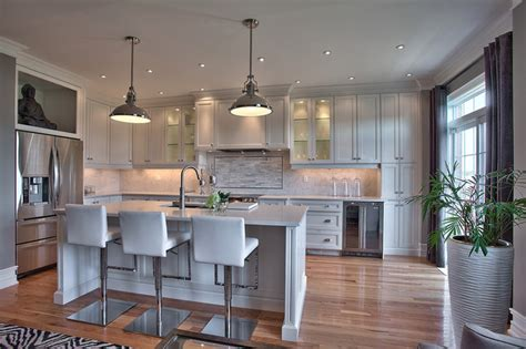 new home interiors suburban new home remodel contemporary kitchen