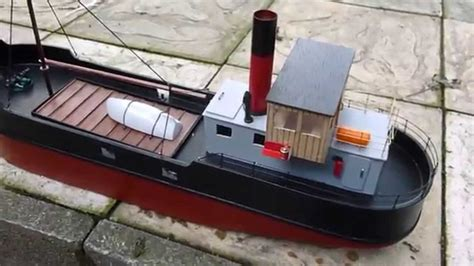 simple boat simple build model boat clyde puffer 2 youtube