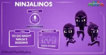 pj masks twitter quot pjmasks meetthevillains characters night ninja