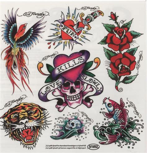 Ed Hardy Tattoos For Dogs by O Holic Ed Hardy