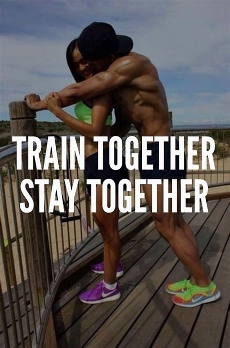 Fit Couple Meme - couples who train together stay together s p o r t s a