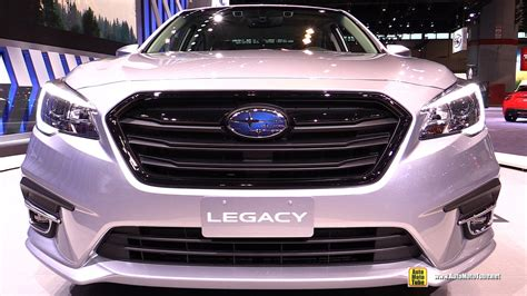 subaru legacy custom interior 2018 subaru legacy exterior and interior walkaround