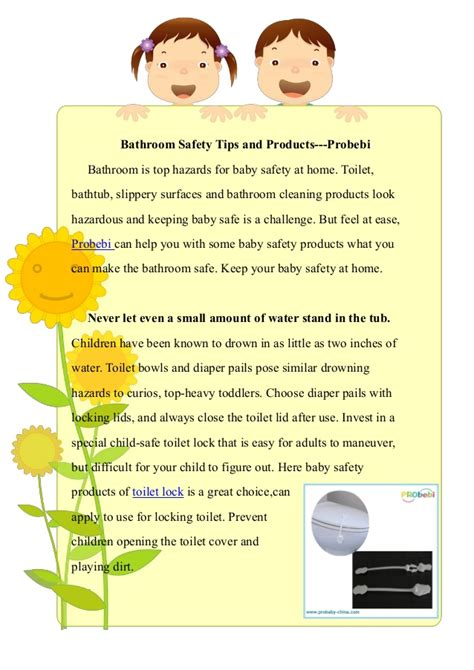 bathroom safety tips bathroom safety tips and products probebi