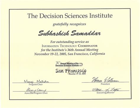 Decision Science Mba by Service And Others