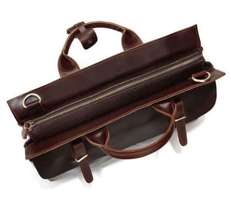 If You Fancy Winning A Vintage Laptop Bag by Vintage Style Leather Briefcase Messenger Bag P02