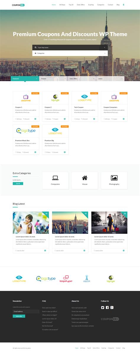 pc themes discount 35 best wordpress directory listing themes 2017