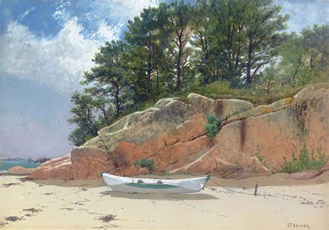 Home Decor Blogs by Dory On Dana S Beach Painting By Alfred Thompson Bricher