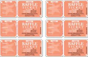 Free Numbered Raffle Ticket Template by Raffle Ticket Template Free Templates Free Premium