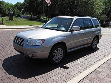 2007 subaru forester type find used 2007 subaru forester 2 5 x l l bean edition in