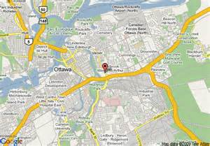 map of hton inn ottawa ottawa