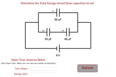 capacitor series parallel circuit problems ap physics 2 review problems