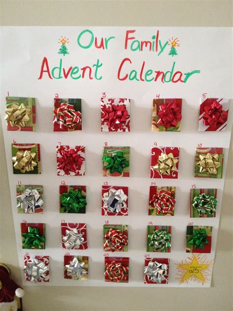 make your own advent calendar with photos create your own advent calendar seven photo