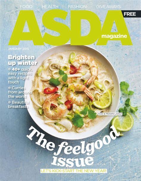 new year food asda asda magazine january 2015 by asda issuu