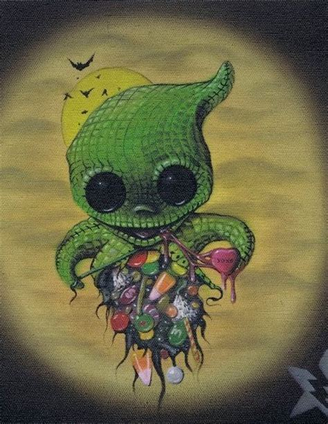 oogie boogie tattoo lowbrow sugar fueled eat your out oogie by