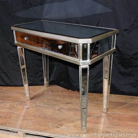 hall table and mirror mirrored hall console table side tables mirror deco