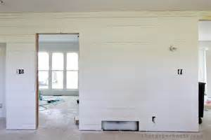How To Stain Interior Concrete Flip House Update Painting The Shiplap The Harper House