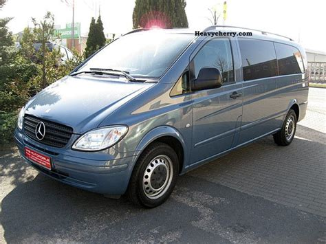 mercedes 8 seater 28 images mercedes vito 113 cdi