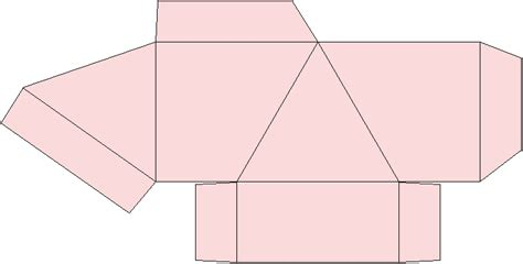 How To Make A Paper Pyramid Template - 4 module pyramid