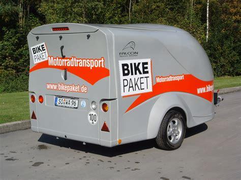 Motorrad Gespann Verleih by Autoanh 228 Nger F 252 R Motorradtransport Gebrauchte Traktoren