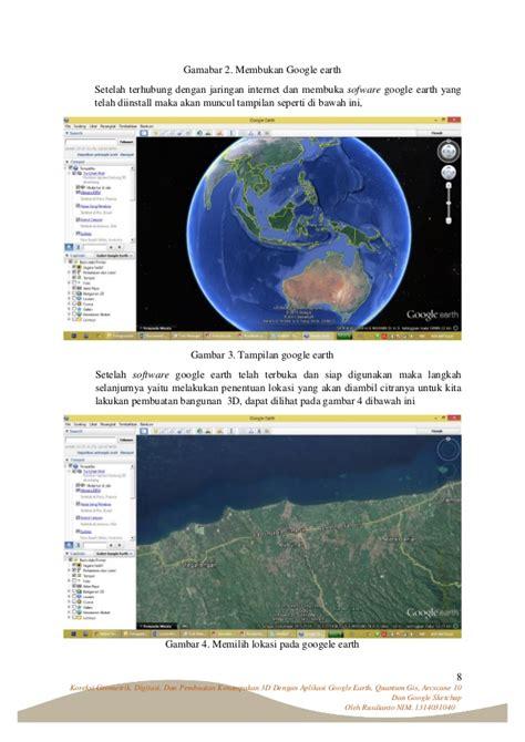 Cd Tutorial Menjelajah koreksi geometrik digitasi dan pembuatan kenakan 3d dengan aplik