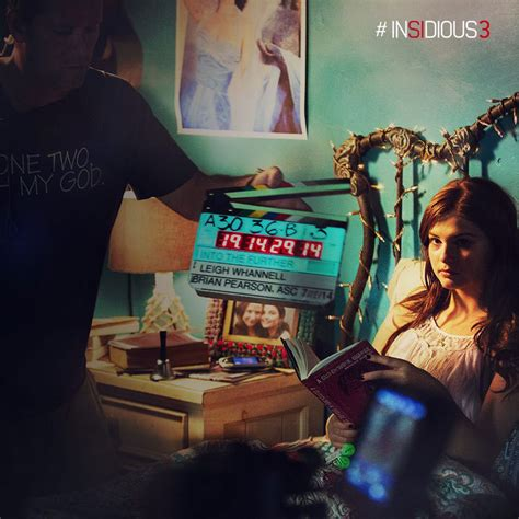 film gratis insidious 3 new behind the scenes insidious chapter 3 images collider