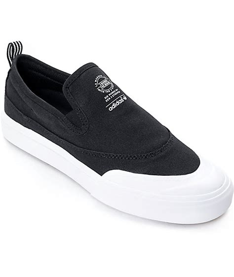Adidas Slip On Suede adidas matchcourt black white slip on shoes