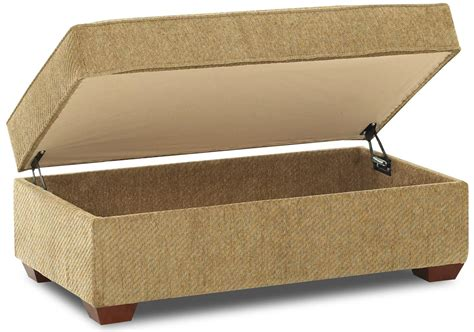 rectangular cocktail ottoman klaussner troupe k51360 stgot rectangular cocktail storage