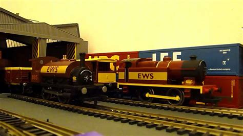 hornby pug custom made hornby ews 0 4 0 ex lms steam tank engine and caledonian pug vintage