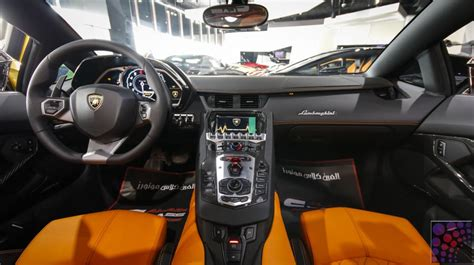 lamborghini aventador lp700 4 roadster interior lamborghini aventador lp700 4 roadster 2015 dubai uae
