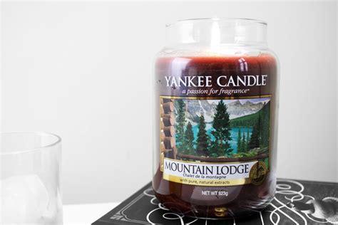 lodge candele mountain lodge candle review prettygreentea