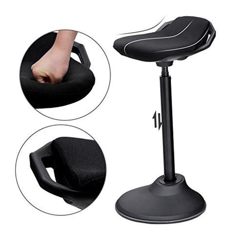 sgabello per piedi songmics sgabello da lavoro in piedi sedia per seduta