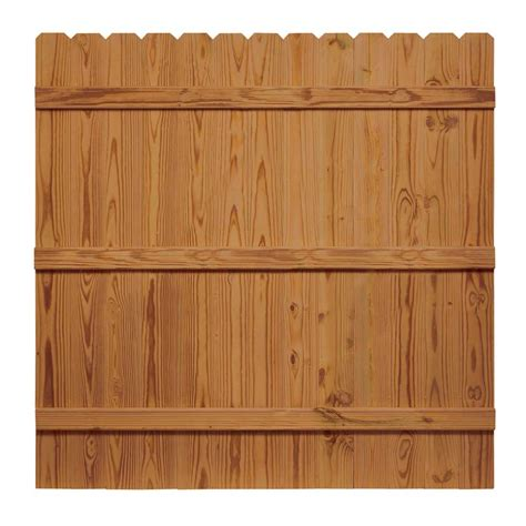 Wood Panel Kit 6x6 Horizontal Semi Privacy Outdooressentialsv3