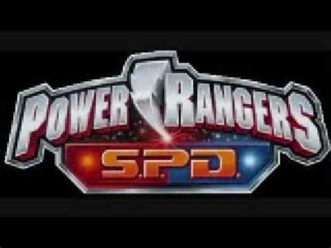 theme songs power rangers power rangers s p d theme song youtube
