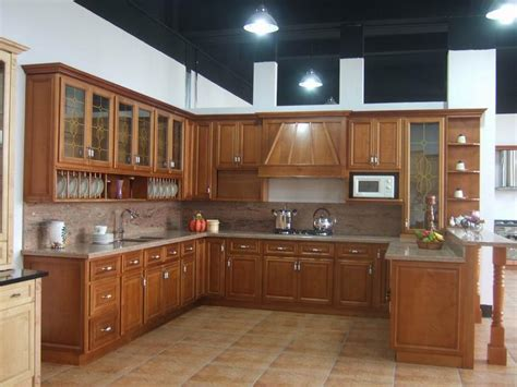 unfinished wood kitchen cabinets china solid wood kitchen cabinet b18 china kitchen
