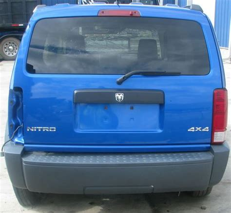 dodge nitro parts for sale purchase used 2007 dodge nitro parts salvage repairable