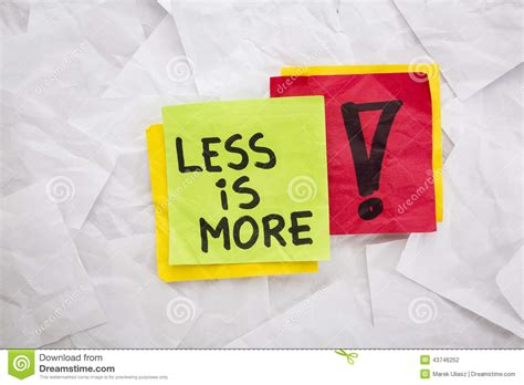 design concept less is more less is more advice