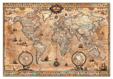 printable jigsaw map of the world old world map jigsaw puzzle jigsaw puzzles for adults