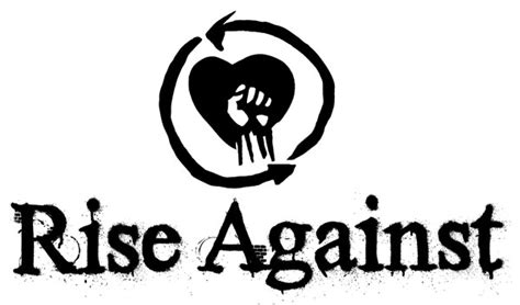 Logo Rise Against rise against