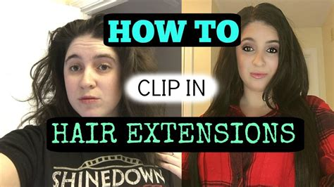 how to put bellami hair extentions for rshort frizzy hair tutorial how to put in clip in hair extensions bellami