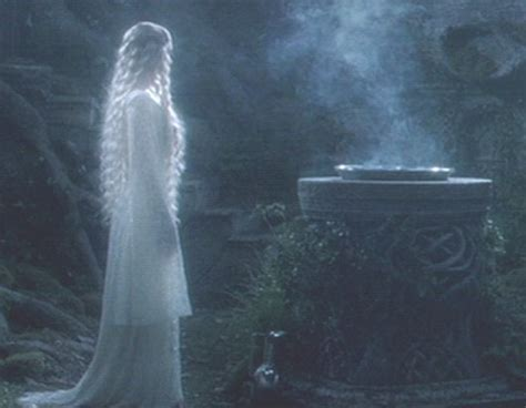 The Mirror And The L by Fotr The Mirror Of Galadriel Galadriel Screen Stills
