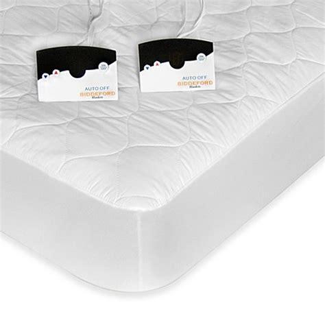 biddeford blankets quilted heated mattress pad