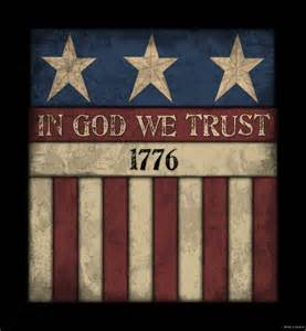 americana country home decor america in god we trust wood sign primitive rustic