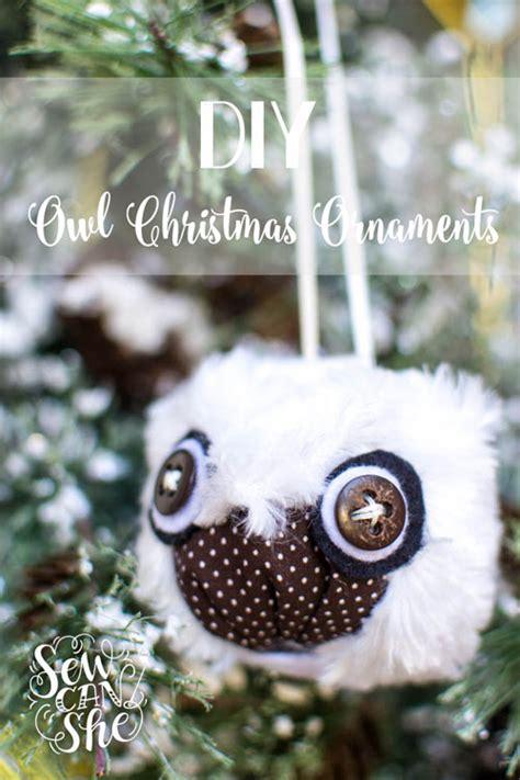 diy owl ornaments show saturday diy owl ornaments