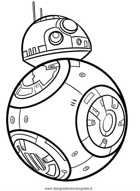 Bb8 Drawing Outline by Disegno Wars 11 Categoria Fantascienza Da Colorare