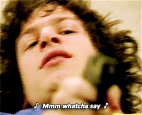 Whatcha Say Meme - andy samberg snl gif find share on giphy