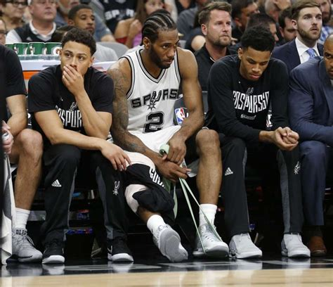 spurs bench kawhi leonard says he will play in game 6 after sustaining