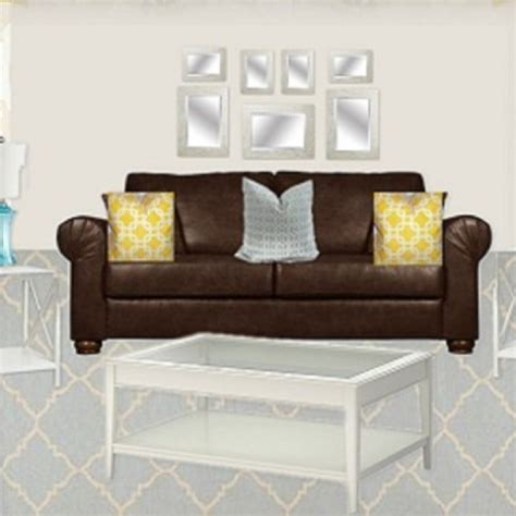 shabby chic ify a leather couch living room pinterest