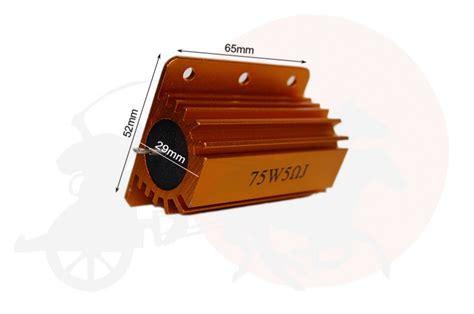 led load resistor box 1 x led load resistor 5 ohm 75 watt chariot