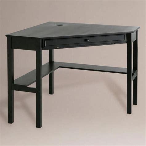 black desks for black corner computer desk market